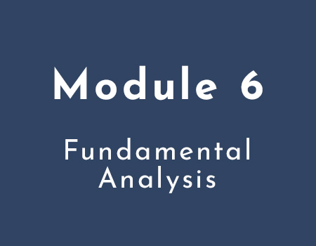 6: Fundamental Analysis